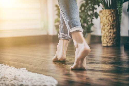 ייבוש חצץ רטוב בבית