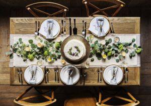 שולחן אוכל מעץ מעוצב – הופך את הבית לחמים