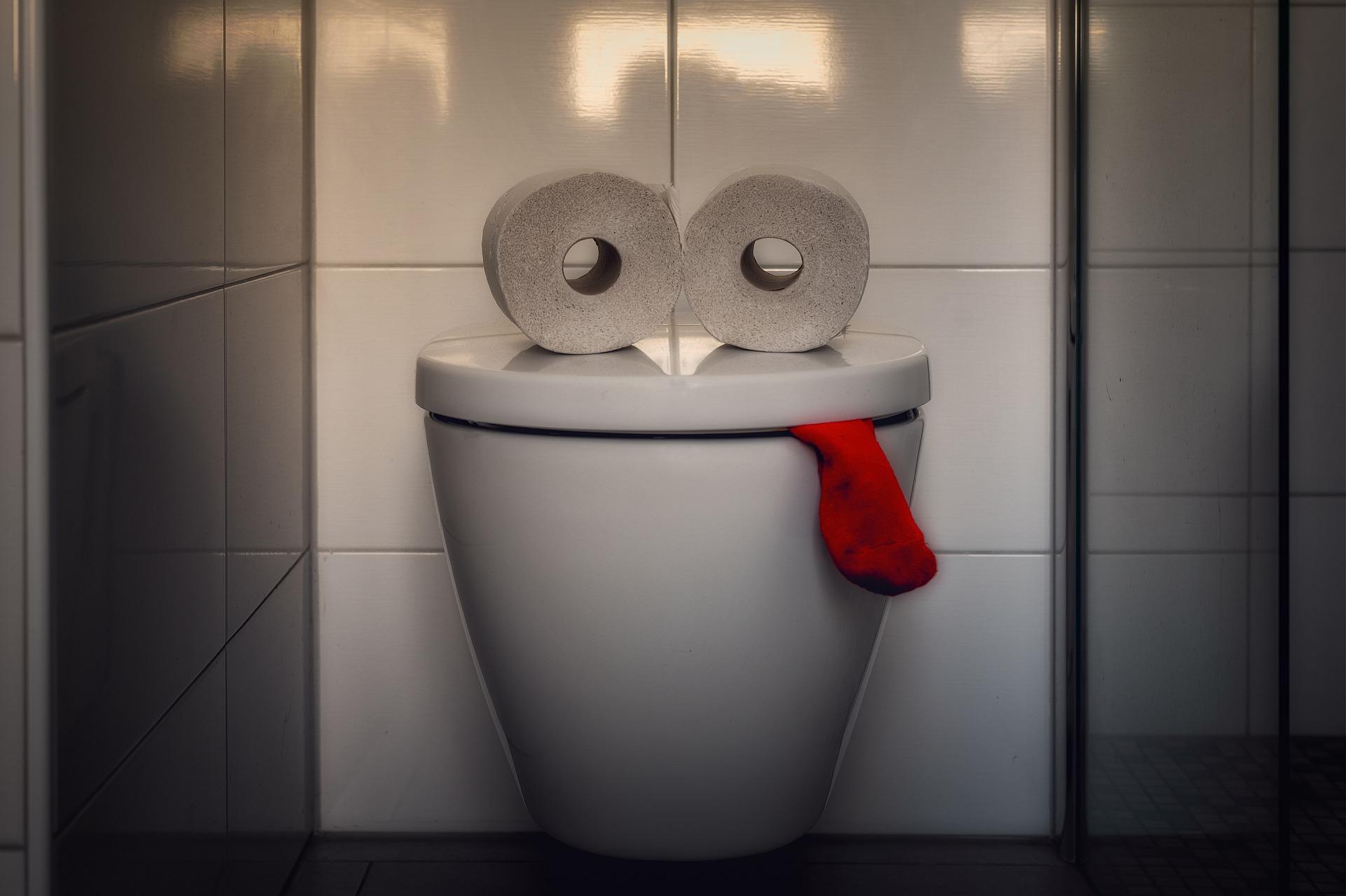 פח אשפה לשירותים